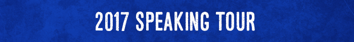Speaking tour
